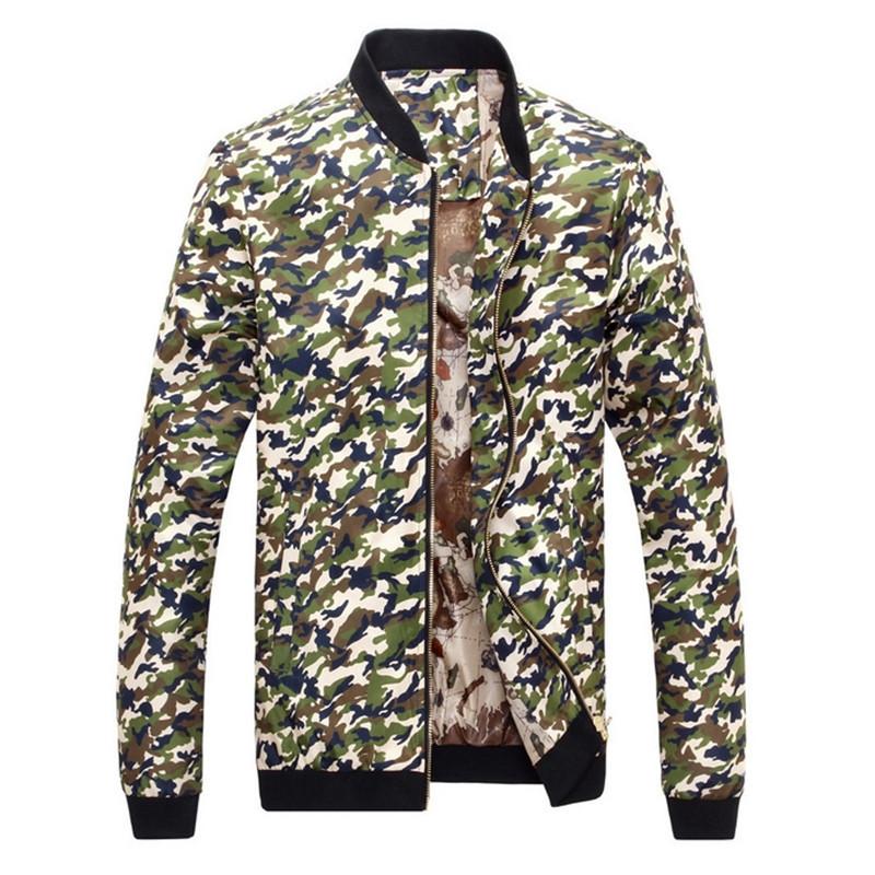 2015 New Fashion Men Jacket And Coats Winter Bomber Jacket Men Colombia Outdoor Baseball Jackets Men Jaqueta Military Camouflage(China (Mainland))