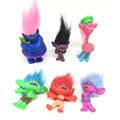 6pcs set Trolls Movie Dreamworks Figure Collectible Dolls Poppy Branch Biggie PVC Figures Doll Toy Trolls