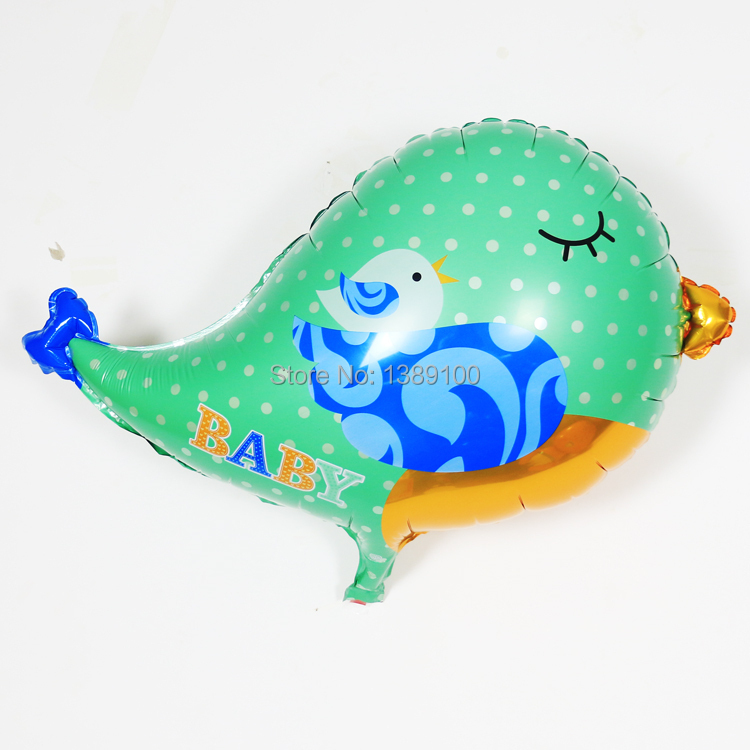 5pcs/lot Best Quality bird animal foil balloon Kids happy birthday balloon party decoration baby balloon childrens party decor(China (Mainland))