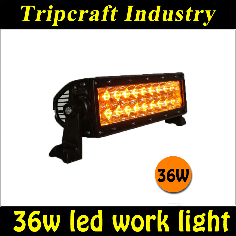 7.5 inch waterproof 36W LED WORK LIGHT BAR for Jeep Truck Trailer 4x4 4WD ATV OffRoad Car Motorcycle Boat amber fog light/Lamp<br><br>Aliexpress