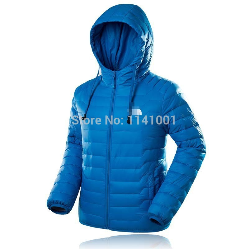 Outdoors Climbing Brand Thicken Winter Jacket Men Sports Down Coat White Duck Padded Hooded Windproof Parkas Light Down Jacket(China (Mainland))