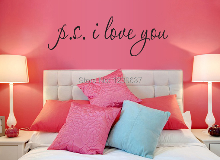 P S I LOVE YOU Romantic Love Quotes And Sayings Wall