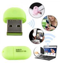 Mini 360 Portable USB Wifi Adapter Pocket Network Wireless Router 2nd Soft AP Green(China (Mainland))