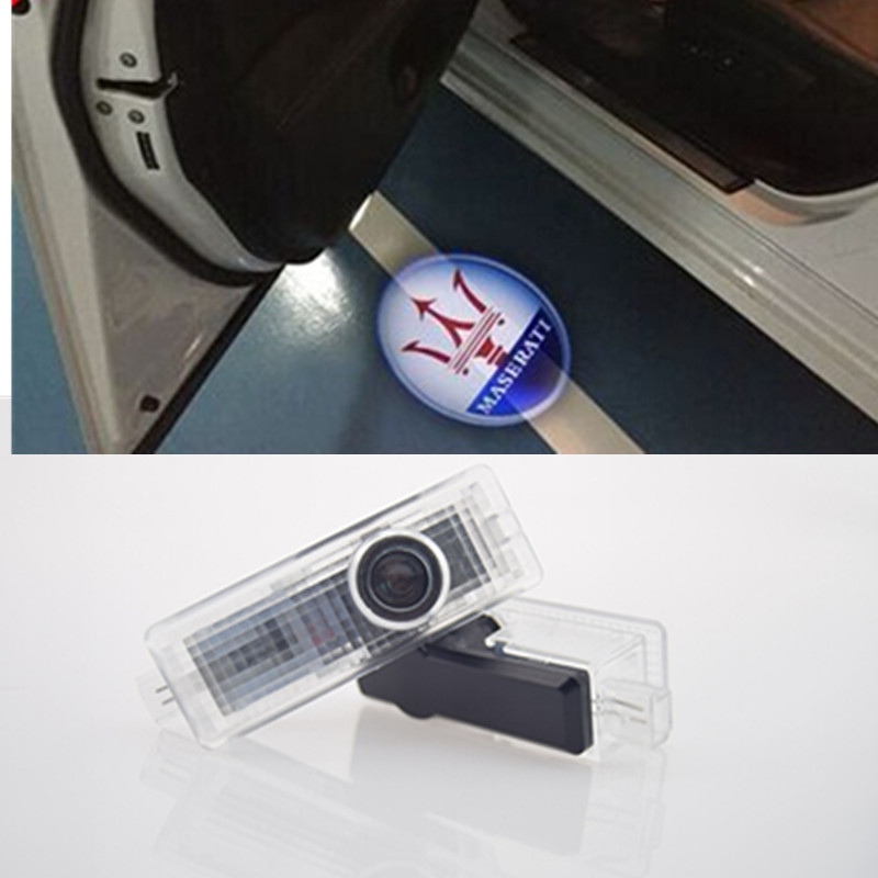 Car Styling LED door Courtesy projector Logo Ghost Shadow light Maserati Quattroporte Ghibli GranTurismo GranCabrio - chogath Store store