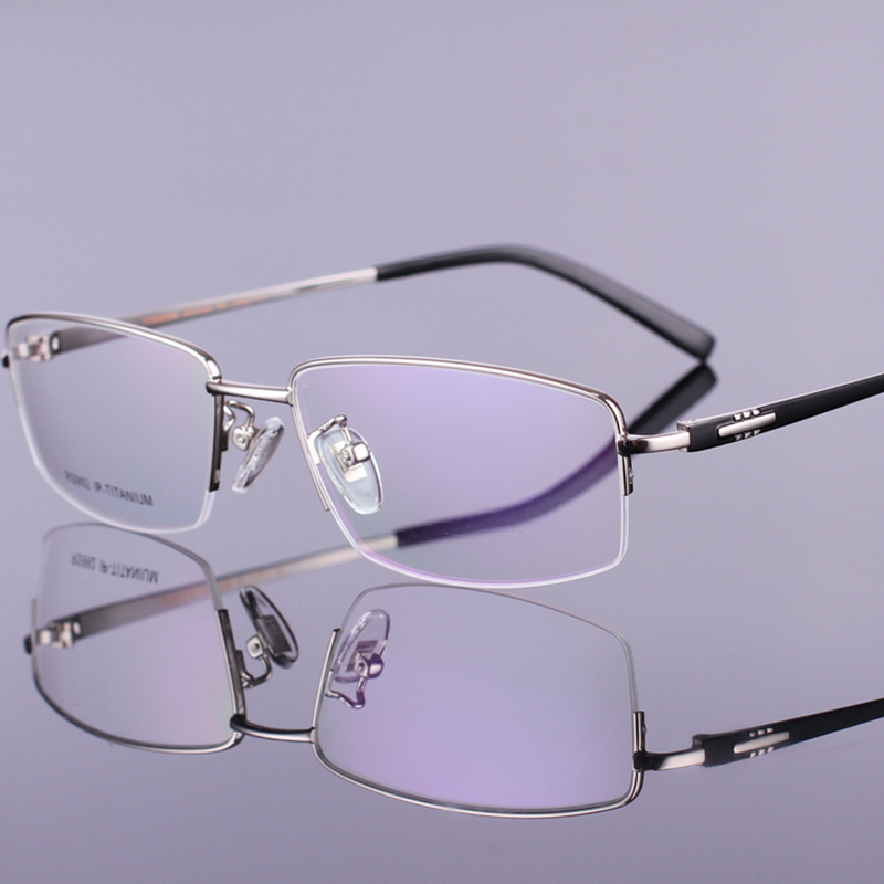 Lightweight Titanium Eyeglass Frames : Pure Titanium Ultra Light Weight Eyeglasses Optical Frame ...