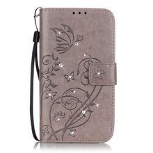 Buy TUKE Case PU Leather Flip Cover Samsung Galaxy J1 2016 J120 J120F J1, 6 SM-J120F / DS 4.5 inch Phone Bags & Cases Protective for $4.14 in AliExpress store