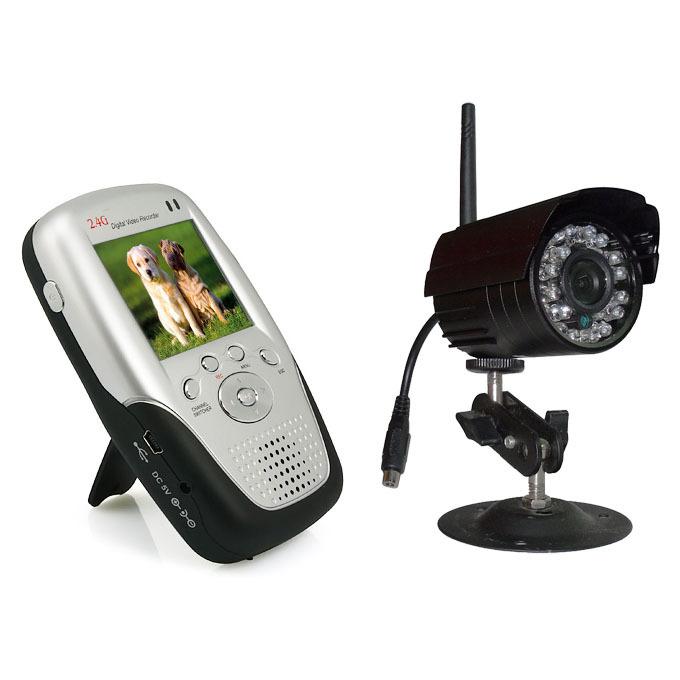 2.4g mini portable night vision IR baby monitor video camera summer infant baby monitor P1(China (Mainland))