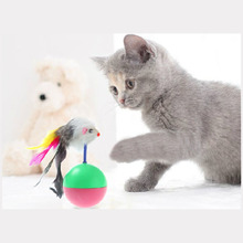 Pet Cat Toys Mimi Favorite Mouse Tumbler Plastic Toys Balls for Cats