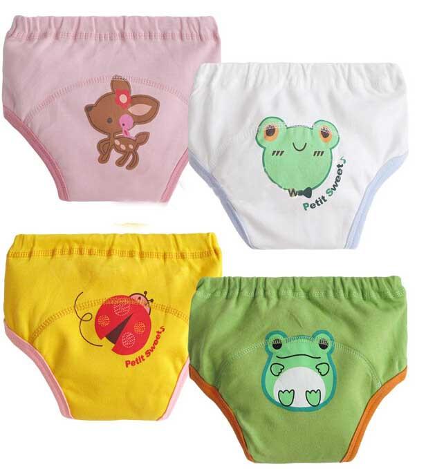 30pcs/lot Potty training pants underwear for babies cloth diaper infant panties newborn nappies XLK018 free shipping(China (Mainland))