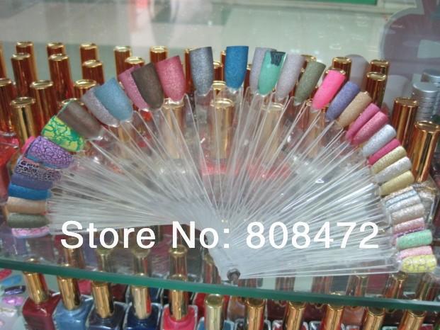 Color Solar Nails Display Nail Polish Color