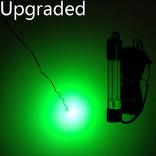12V to 24V 8W Yellow Green White Blue 6M Cable Dock Fishing Boat Night Fishing Lights IP68 Underwater LED Fishing Lights(China (Mainland))