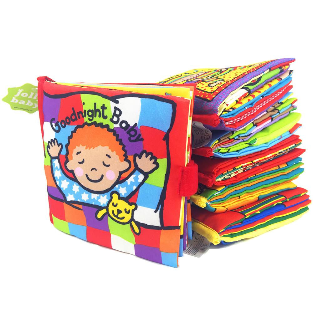 product 6 gaya buku aktivitas Kartun hewan yang lembut mainan bayi pendidikan Buku kain Mewah cerita hewan intelijen mengembangkan ma