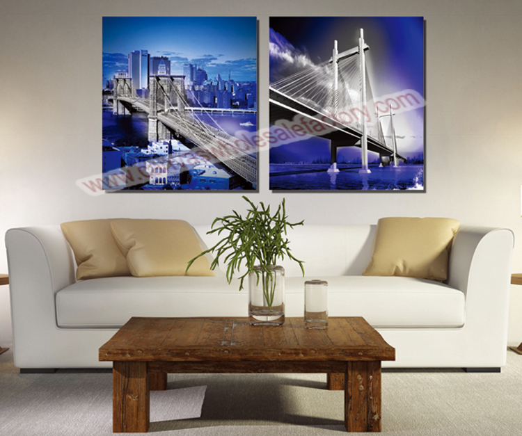 Wholesale home decor canvas art prints painting of new for Home decor new york