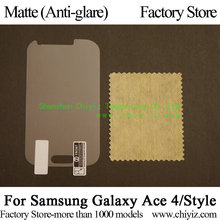 Matte Anti-glare Screen Protector protective Film For Samsung Galaxy Ace 4 G310A G310H G3139D G313H G313DS G310 Ace Style G310HN
