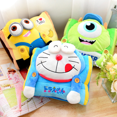 Cartoon children can meter rectangular design with hand charging double intervene electric heater hot water bottle Hand Po shipp(China (Mainland))