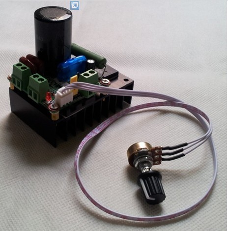 New 12V 24V 48V 110V DC Motor Speed Control PWM MACH3 Speed Control+Potential and cable