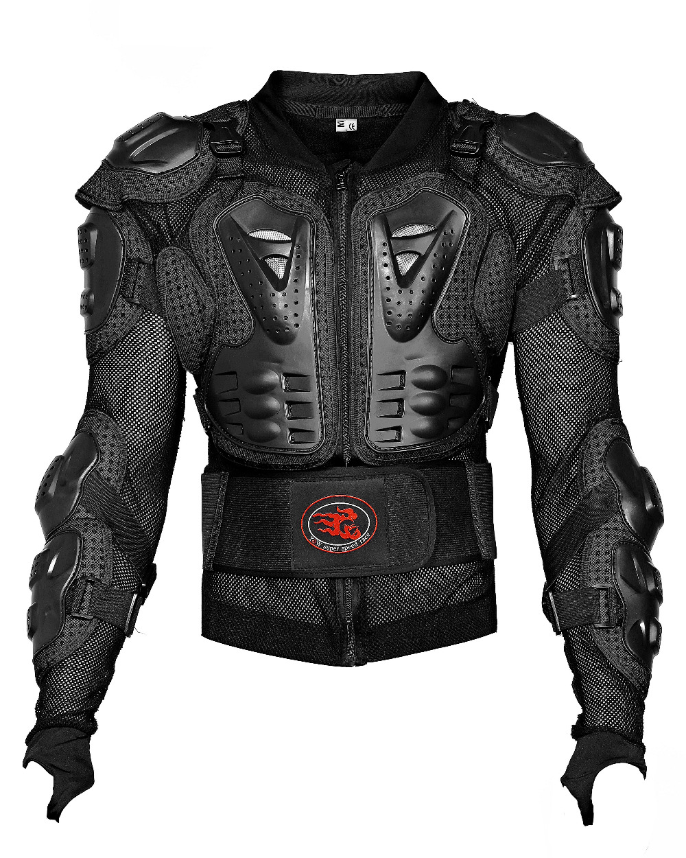 Motorcross Black back protector shoulder protection chest protection jacket protective clothing body protector(China (Mainland))