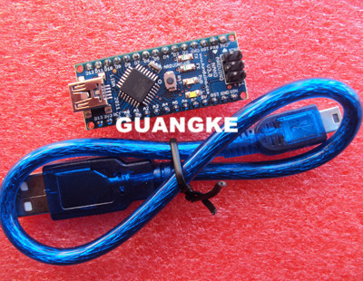 10set/lot Original Nano 3.0 atmega328 mini version FT232RL imported chips support win7 Win8 for arduino with USB cable