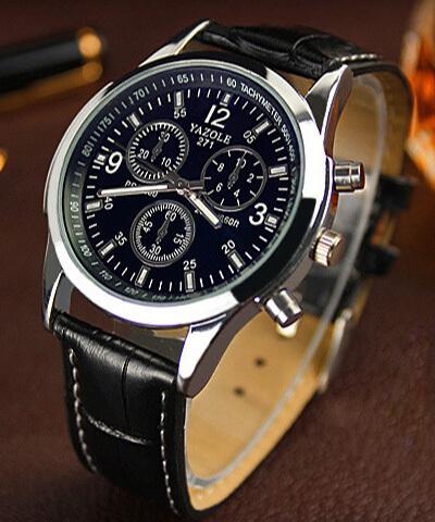 2015 top quartz watches men luxury brand famous male relojes de los hombres de la marca