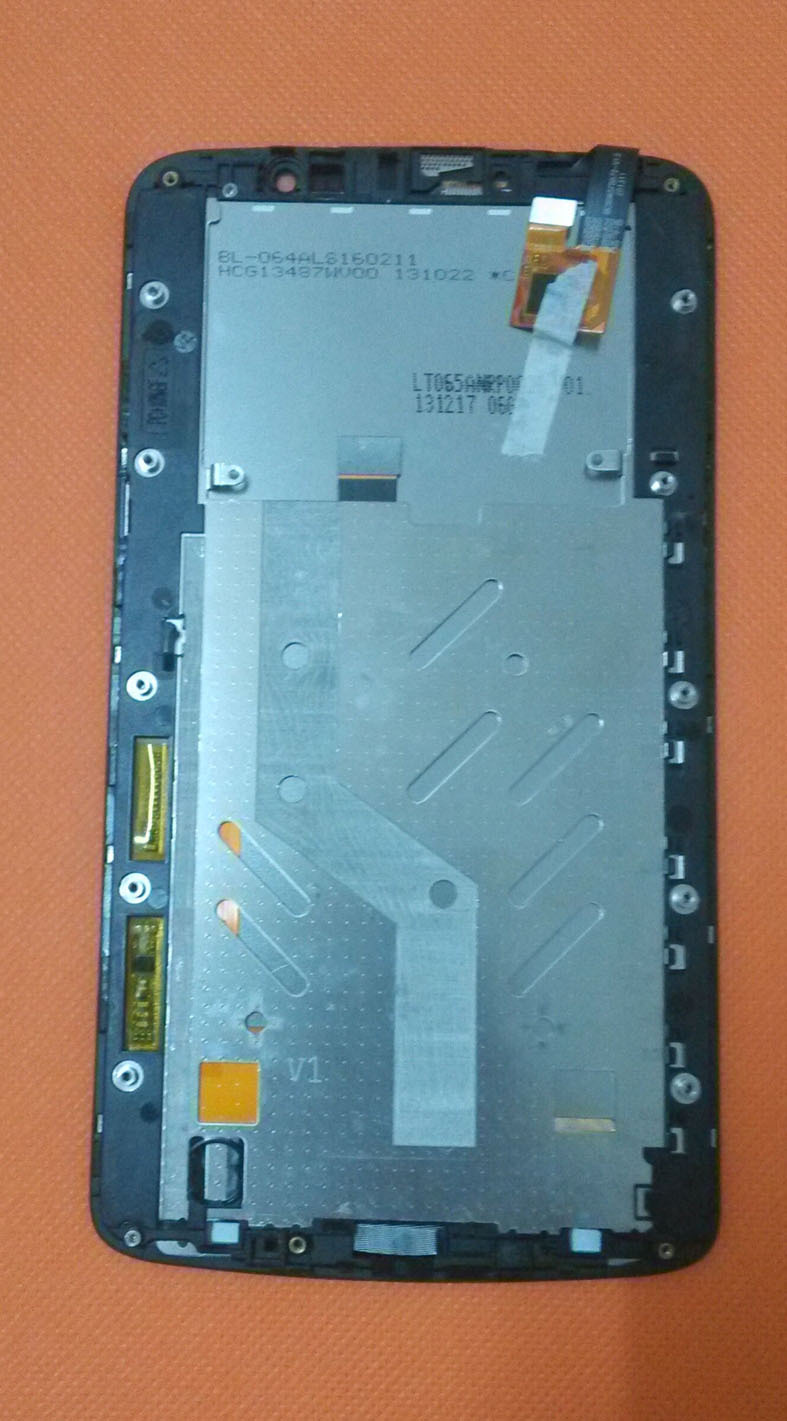 Original inew i6000 i6000+ LCD Display Screen + Touch Screen With the Frame Assembly Replacement For inew i6000 i6000+