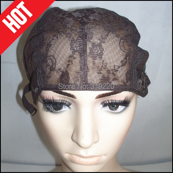 Cheap Brown Color 1Per Lot Small Medium Large Size Jewish Wig Caps Making Wigs DHL/UPS - Fashion Top Hair Store store