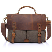 Vintage military Canvas Crazy horse men travel bags Carry on Luggage bags Men Duffel bag travel tote large weekend Bag Overnight(China (Mainland))