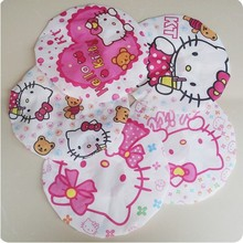 20pcs/lot waterproof hello kitty bathing cap bathroom shower cap various designs free shipping(China (Mainland))