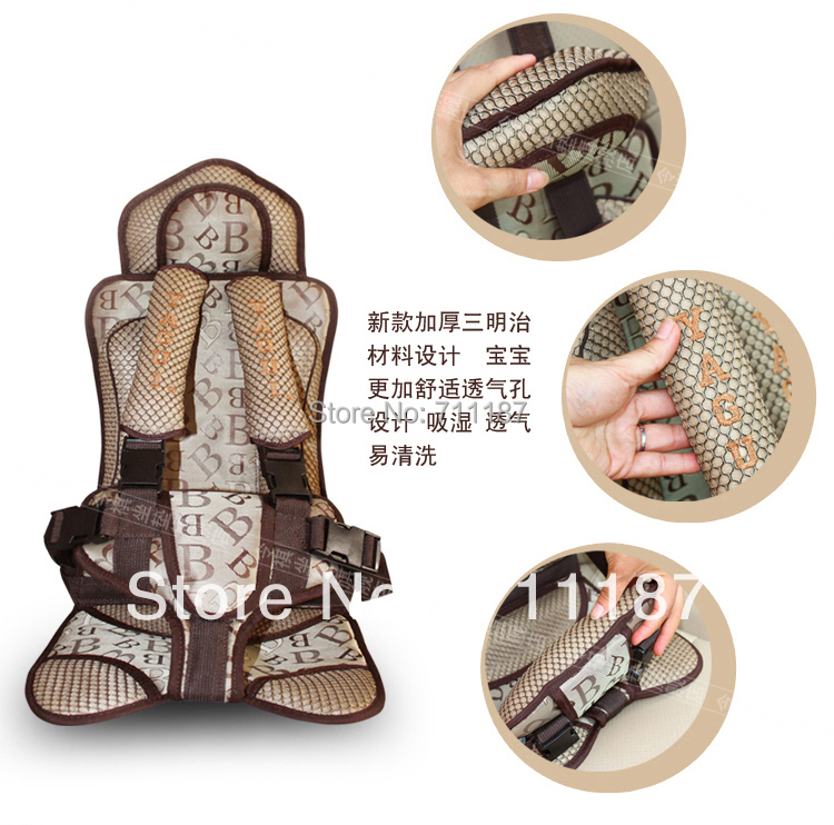 5 point safety harness kids car booster seatsportable car seatsbreathable sandwich fabric child safety car seat 5 to 25 kg in child car safety seats from