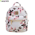 2017 New Printing Backpack School Bags For Teenagers PU Leather Women Backpacks Girls Travel Bag High
