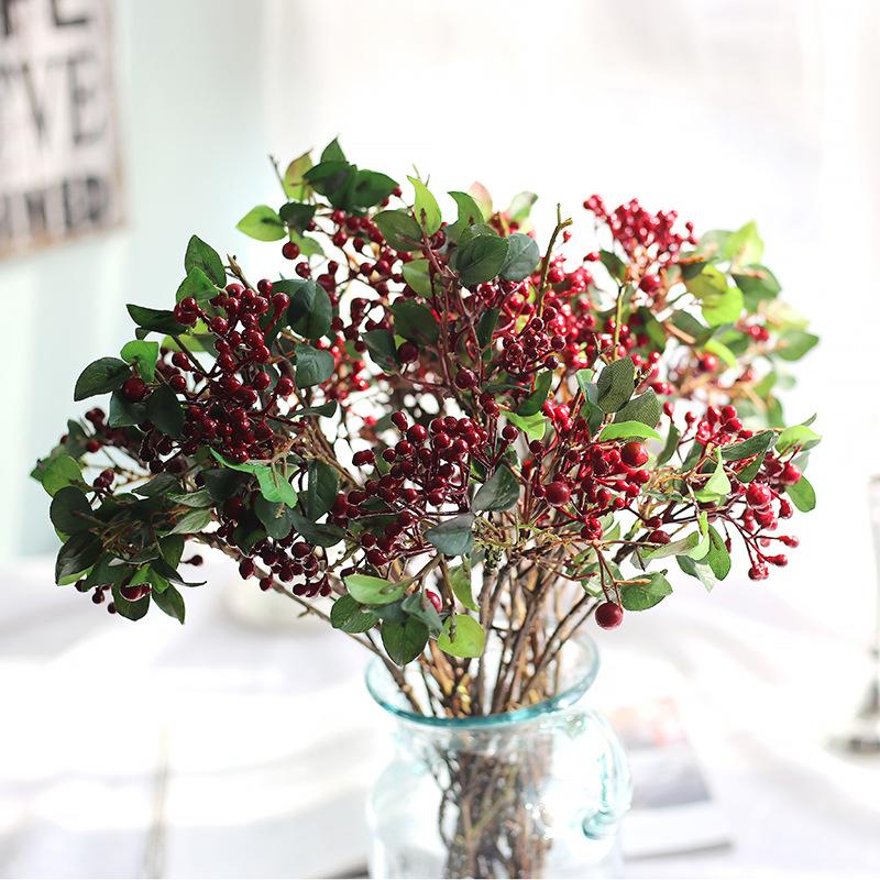 Artificielle fruits rouges promotion achetez des for Faux bambou pas cher