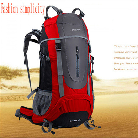 Fashion Brand Climbing Bag Outdoor shoulder sport bag women waterproof hiking camping riding backpack men's travel bags 60L - jiajia Co., Ltd. store