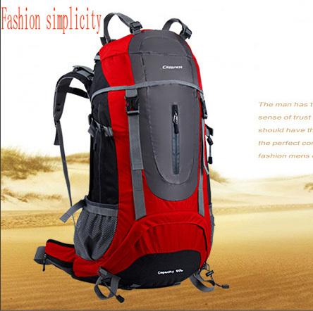 Fashion Brand Climbing Bag Outdoor shoulder sport bag women waterproof hiking camping riding backpack men's travel bags 60L  -  jiajia Co., Ltd. store