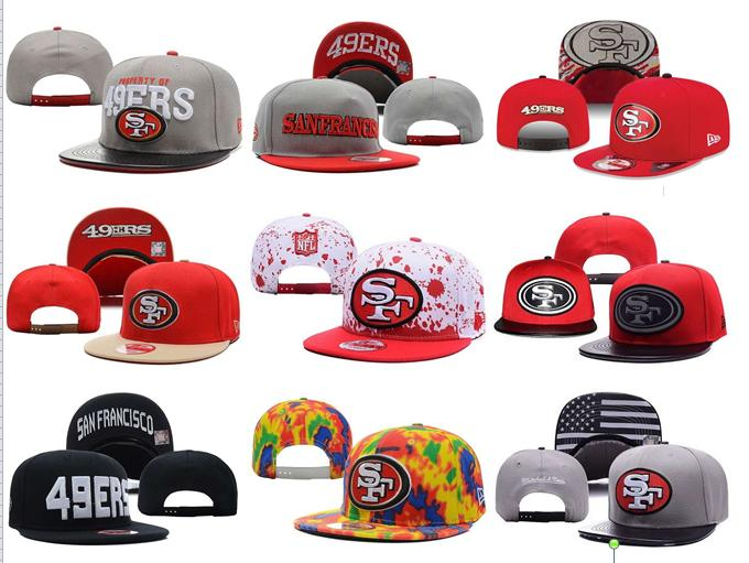 2016 NO-8 NEW arrive Free fast shipping Best Quality 21 Style San Francisco 49ers Snapbacks cap gorras bones hats(China (Mainland))