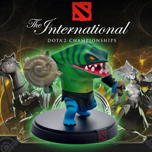 Famouse Popular Game Dota2 The International Seattle Competition TH Tiderhunter Tide Hunter Leviathan Action Figure Doll