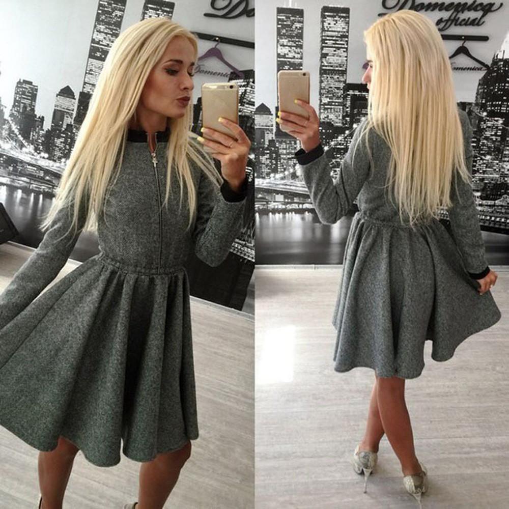 Женские платья фото зима 3