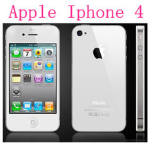 3pcs/lot Factory Unlocked Original Apple Iphone 4 8G/16G/32G Smartphone 3G WIFI 5.0MP 3.5″ Brand IPHONE 4 Used Free Shipping