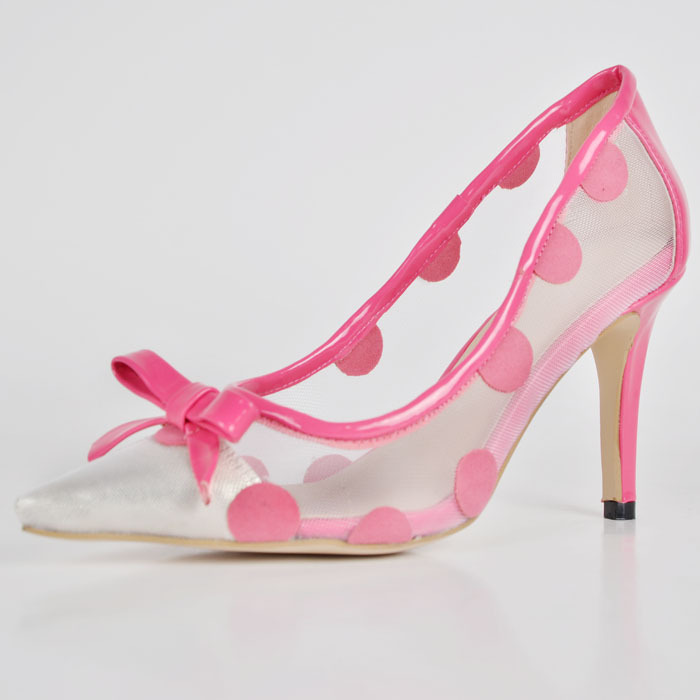 pink dress shoes for point toe heel 2015