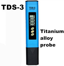 Buy Portable Pen type PH Meter Water Filter Measuring Water Purity Tester TDS Meter Titanium alloy probe 53%off for $5.00 in AliExpress store