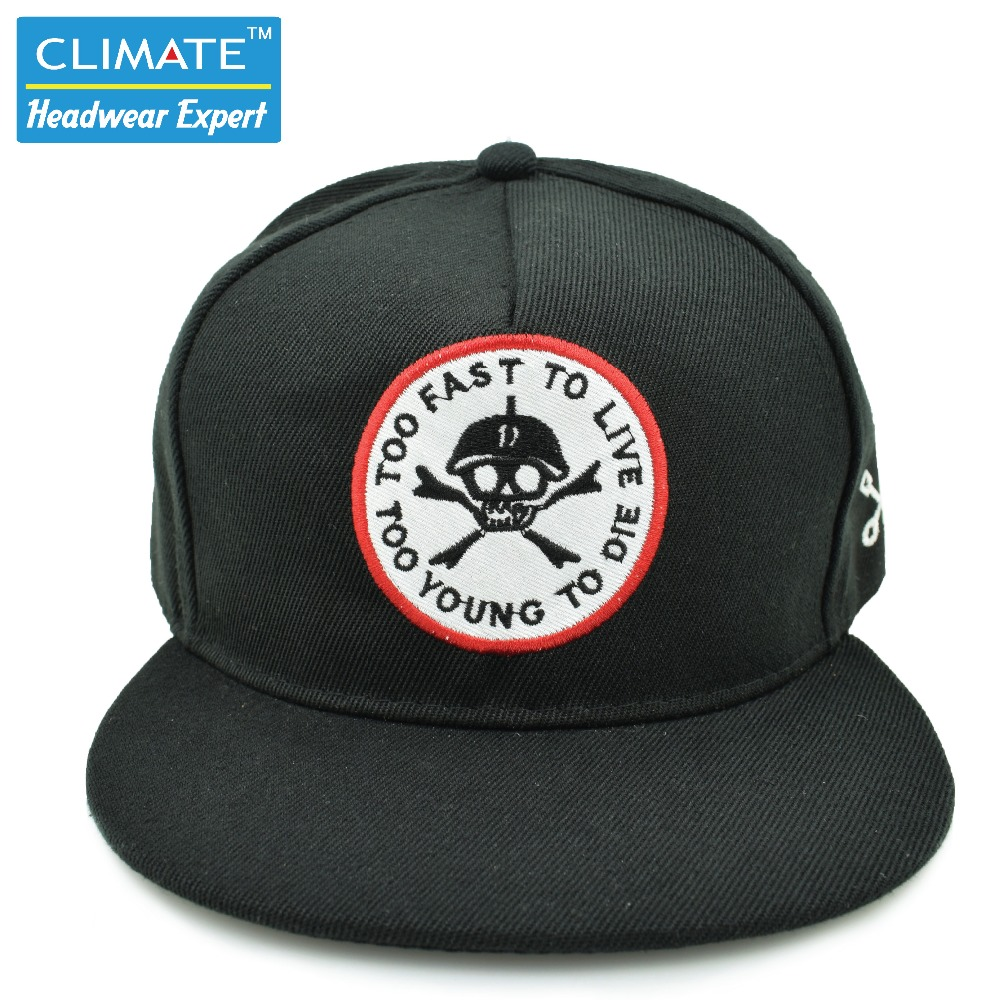 New Style Bratson From Chaos Famous Skull BoneWarrior Dancer Adjustable hiphop Snapback cap hat for young men women boys girls(China (Mainland))