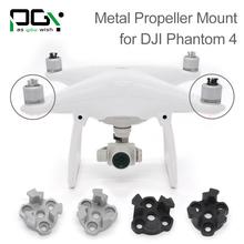 PGY DJI phantom 4 Metal Propeller Bracket Mount for Phantom4 Silve black Holder Adapter motor connector drone parts accessories