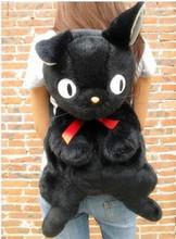 2015 Japanese Style Women Fashion Cute Cartoon Kiki's Delivery Service Black Cat Backpacks Students Backpacks  F2214(China (Mainland))