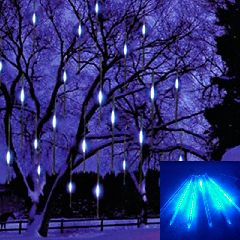 30cm Meteor Shower Rain Tubes Led Light Lamp 100-240V EU Plug Christmas Ourdoor Lights New Year Garden Decoration Free Shipping<br><br>Aliexpress