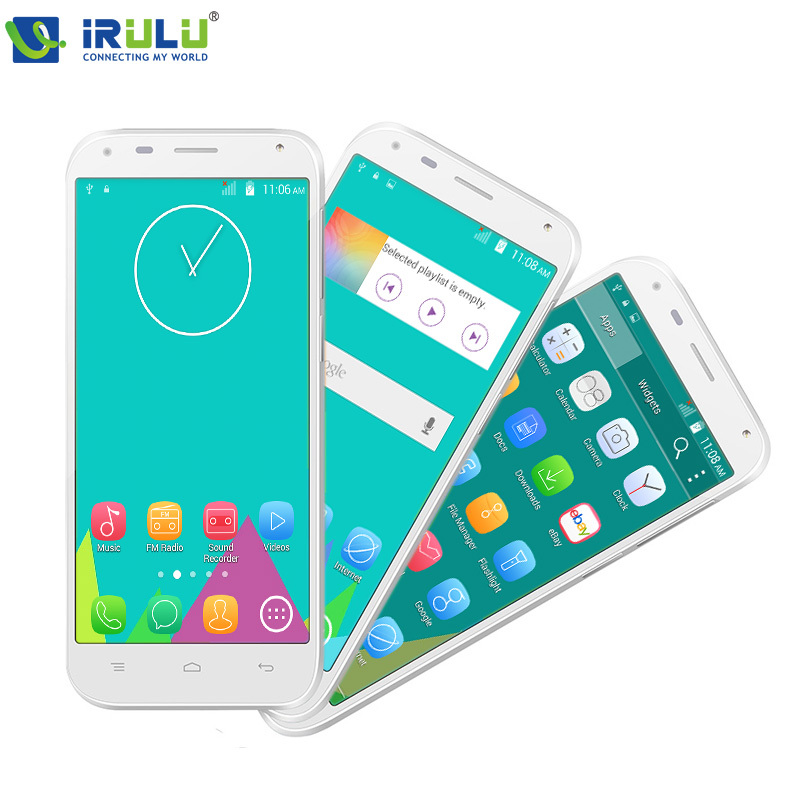"iRULU U1 Mini Smartphone 4.5"" MTK6582 Android 4.4 Quad Core 8GB Dual SIM android smartphone qHD LCD 5.0MP Black/White New Hot(China (Mainland))"