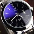 2016 hot sale Men s Watches Stainless Steel Band Analog Display Quartz Men Wrist watch Ultra