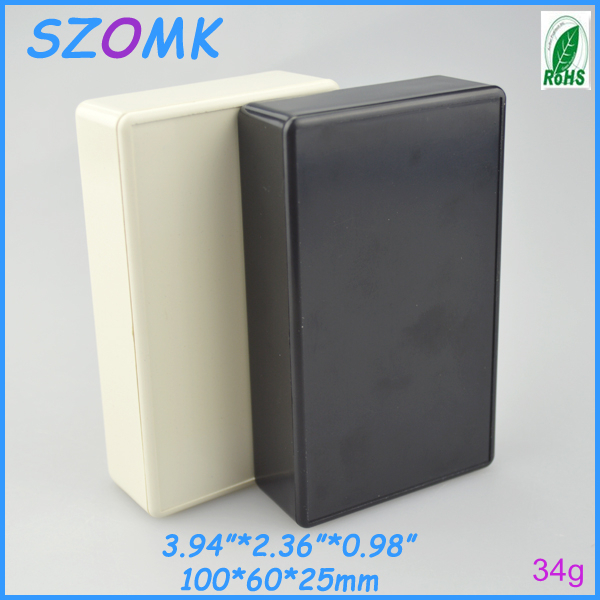 10 pieces a lot Plastic samll white standard enclosure for electronics  100x60x25mm 3.94*2.36*0.98inch plastic project box<br><br>Aliexpress