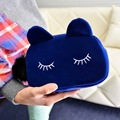 New Suede Cat Cosmetic Makeup Bags Cute Cartoon Storage Pouch Fashion Ladies Mini Travel Toiletry Bag