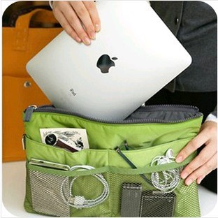 Free shipping 1lot=1pcs Korea multifunctional finishing pouch Cosmetic Bag Travel Pouch in Japanese thickened portable package(China (Mainland))