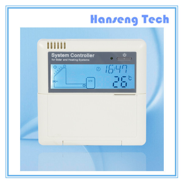 CE approved Intelligent Solar Water Heater system controller for solar and heating system SR868C8(China (Mainland))