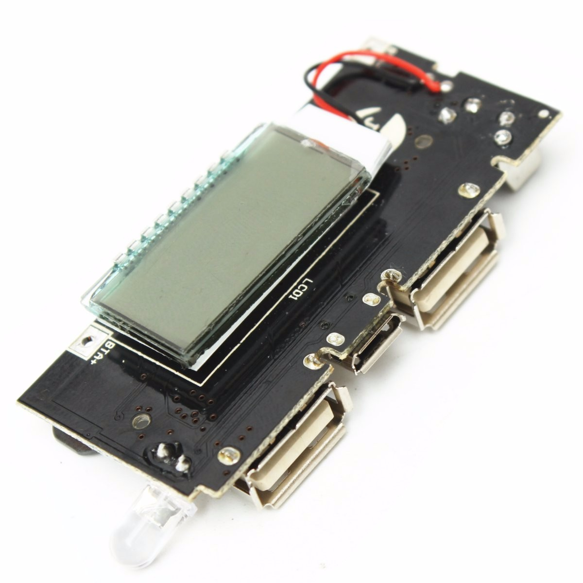 New Dual USB 5V 1A 2.1A Mobile Power Bank 18650 Battery Charger PCB Power Module Accessories For Phone DIY