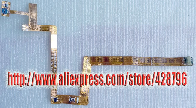 """821-0409-A A1181 13"""" Mbook Trackpad Top Case Keyboard Orange Ribbon Flex Cable,MB063LL/A,MA701LL/A,tested OK!(China (Mainland))"""
